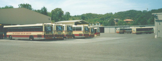 Red Bus Services Depot